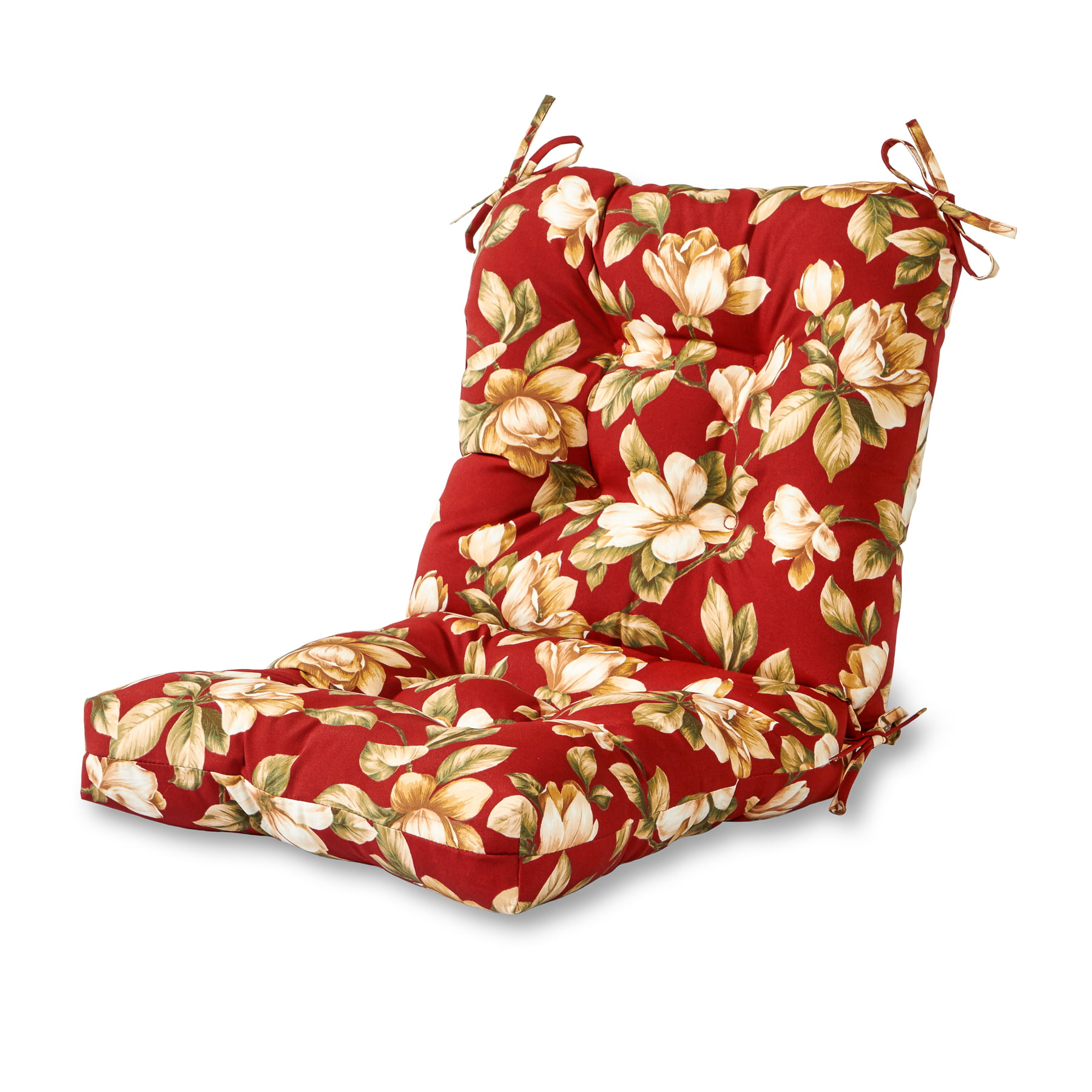 Buy Greendale Home Fashions Outdoor Seat/Back Chair Cushion, Roma Floral  Only $26.93
