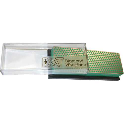 DMT 6 Inch Diamond Whetstone Extra Fine W6Ep with Plastic Box by DMT