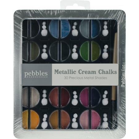 Pebbles I Kan'dee Chalk Set - Metallic Creams - 30 -