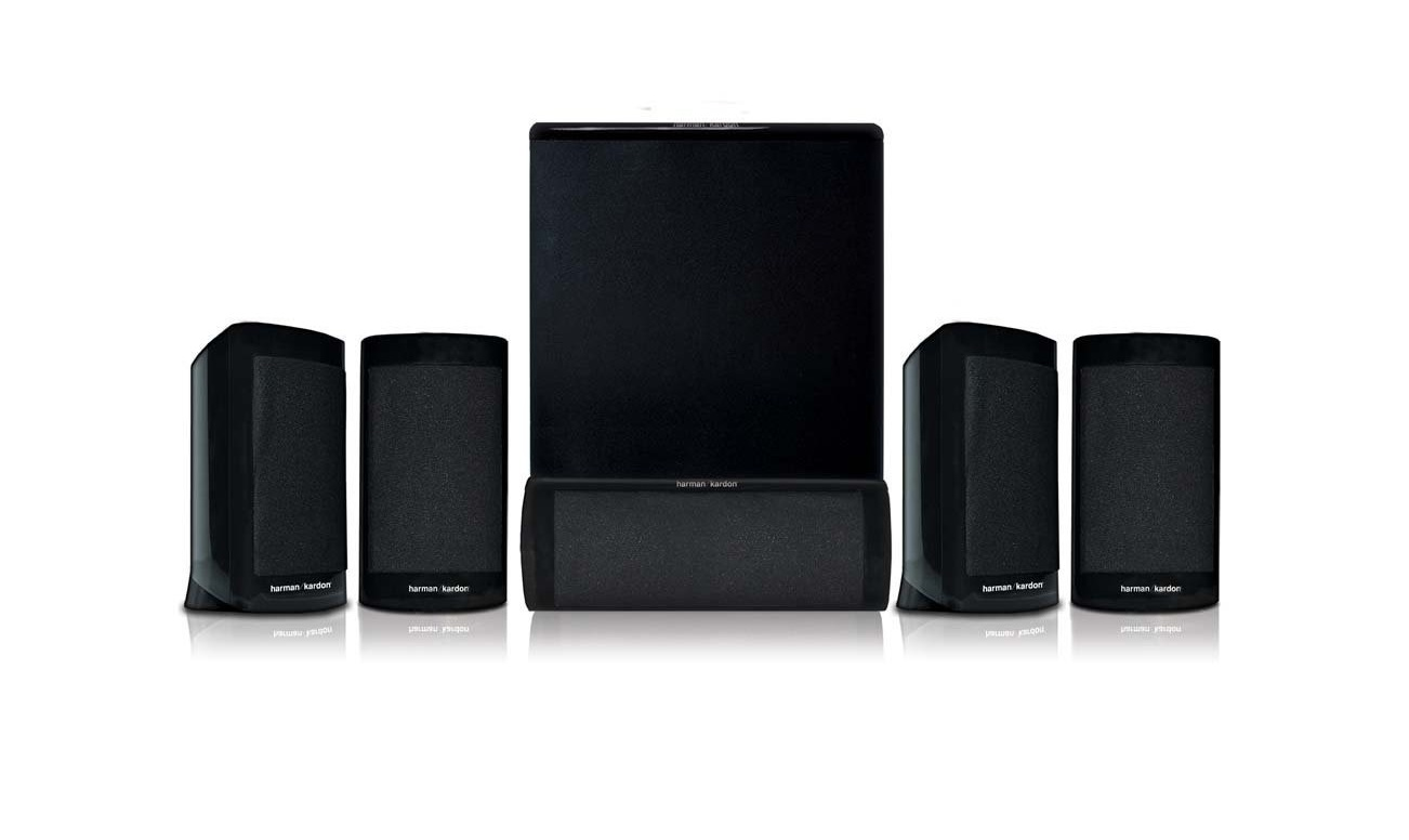 Harman Kardon 5.1 Home Theater Speaker System Black HKTS10 HKTS-10 by Harman Kardon
