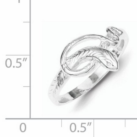 925 Sterling Silver Snake Ring - image 1 of 2