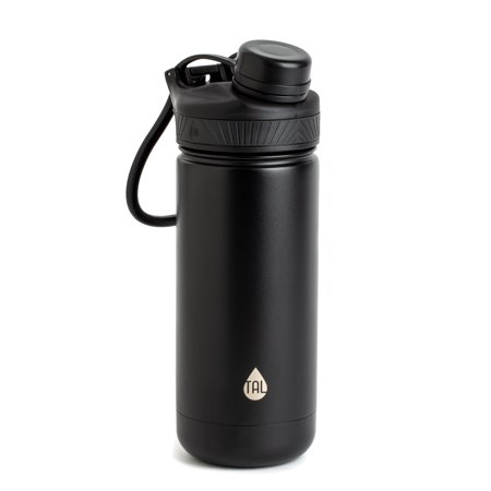 TAL 18oz Double Wall Vacuum Insulated Stainless Steel Ranger™ Pro Black (Tal Fai)