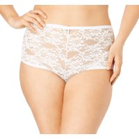 Comfort Choice Plus Size 2-pack Lace Hipster Panty  Panties