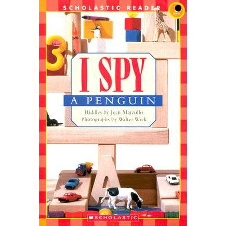 I Spy a Penguin (I Spy Books Halloween)