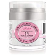 Divine Derriere Skin Lightening 2% Hydroquinone Bleaching Cream with 6% AHA Glycolic Acid