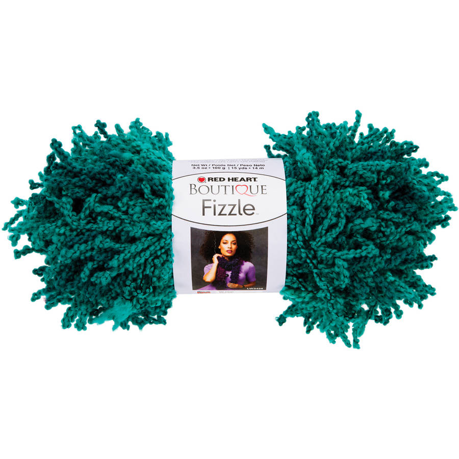 Red Heart Boutique Fizzle Yarn, Available in Multiple Colors