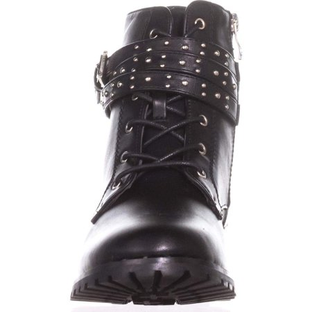 """Wanted """"Spirals"""" Lace-Up Bootie With Studded Strap - image 1 de 2"""