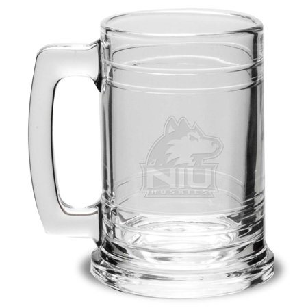 Northern Illinois Crystal Colonial Beer Tankard