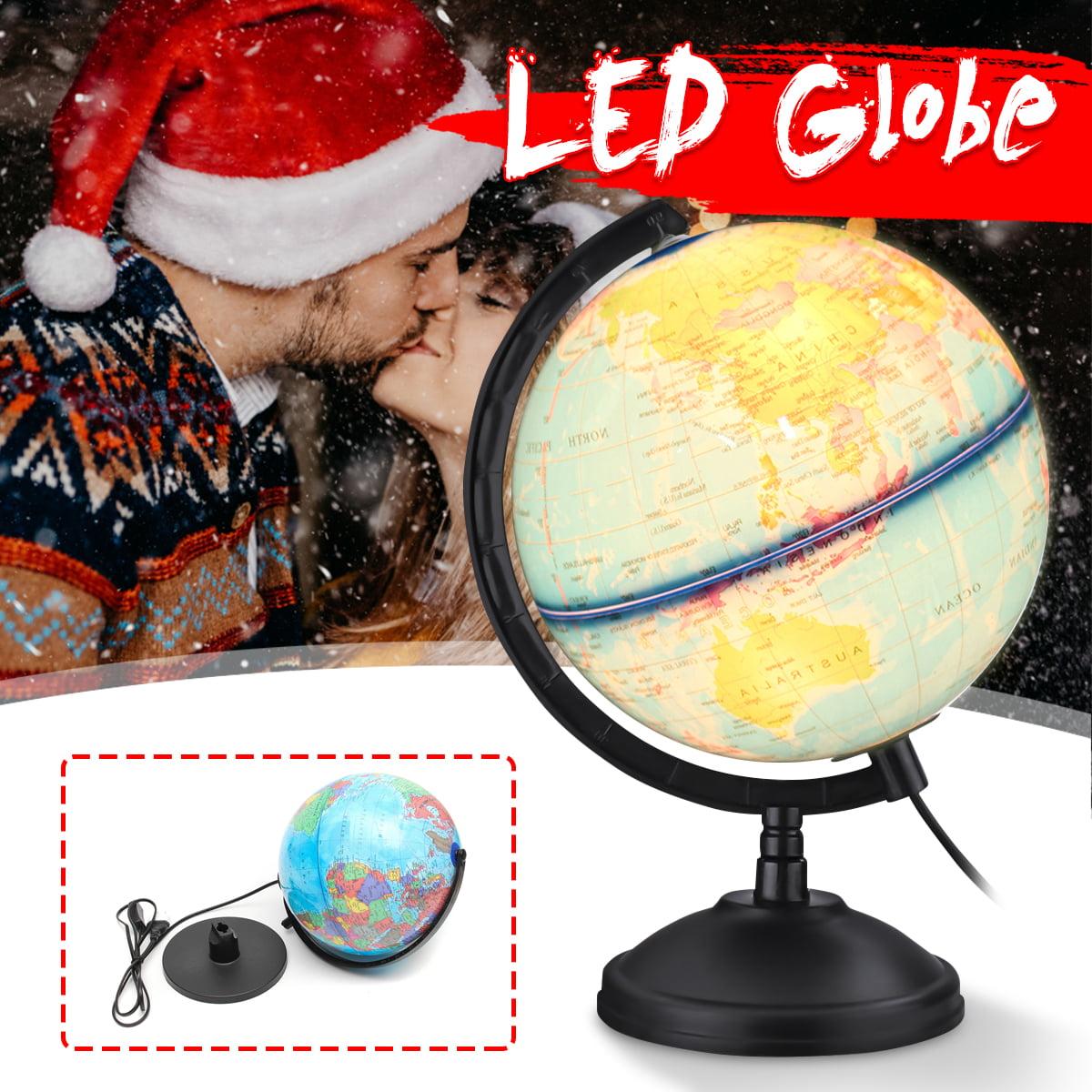 Inch Plastic Pvc World Globe Lamp