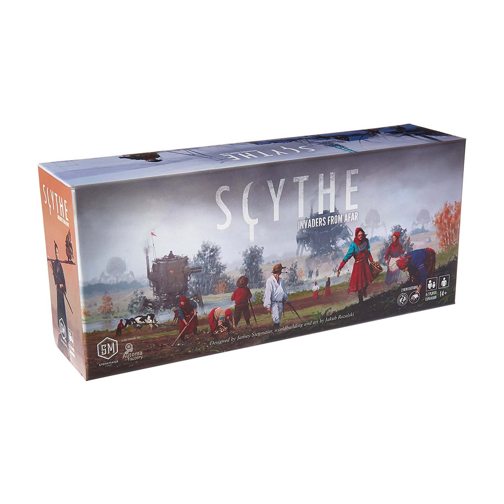 Greater Than Games Scythe: Invaders from Afar Board Game by Greater Than Games