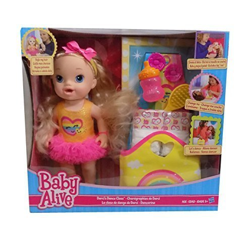 Hasbro Baby Alive Darcis Dance Class Blonde Hair Doll
