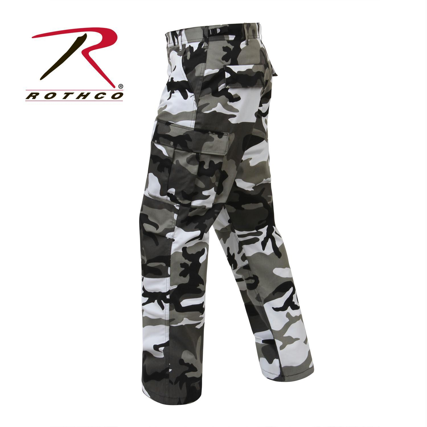 City Camo BDU Pants, Military Fatigues by Rothco