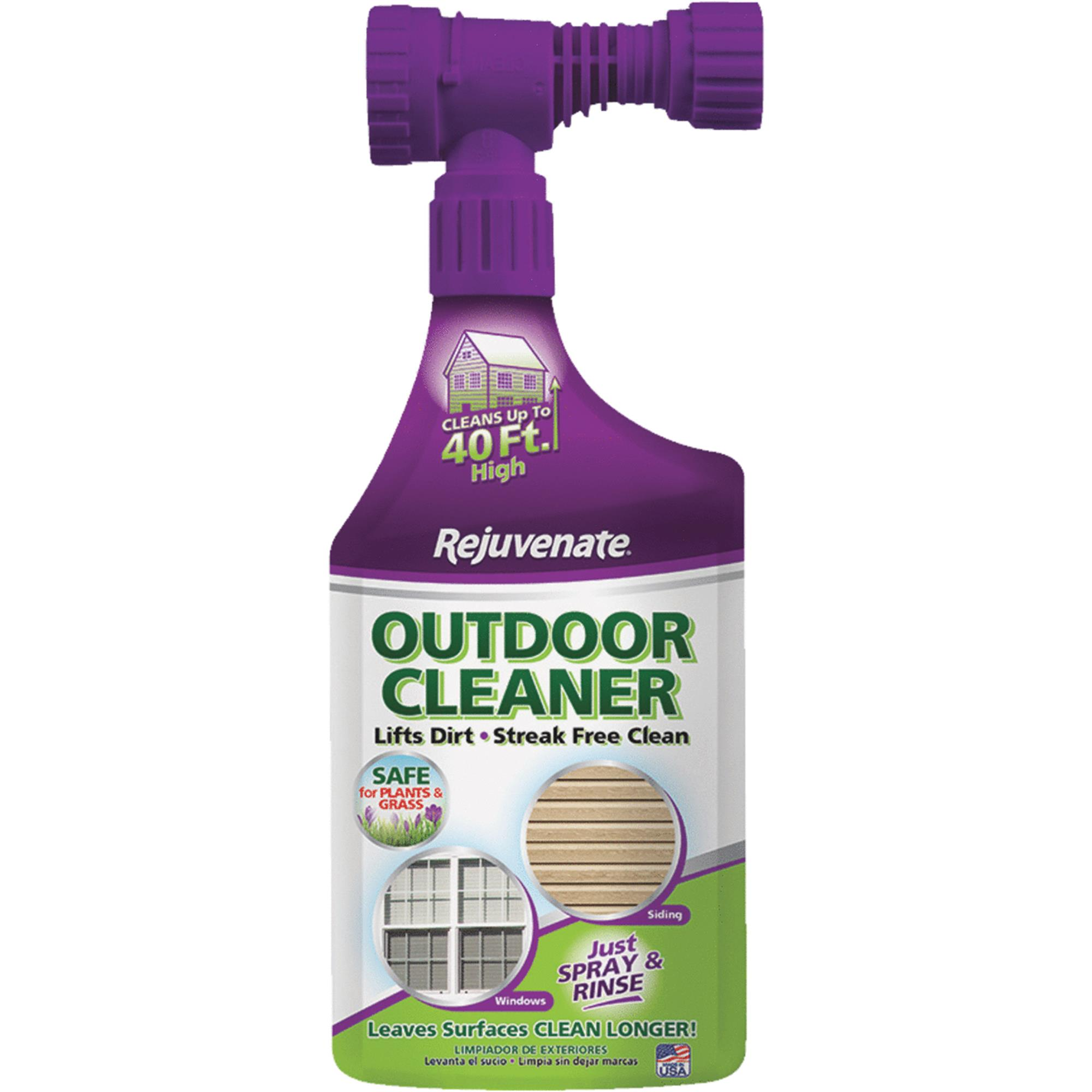 Rejuvenate Outdoor Glass & Surface Cleaner