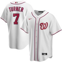 Trea Turner Washington Nationals Nike Youth Home 2020 Replica Player Jersey - White