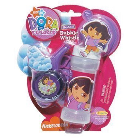Dora Bubble (No-Spill Bubble Whistle Dora)