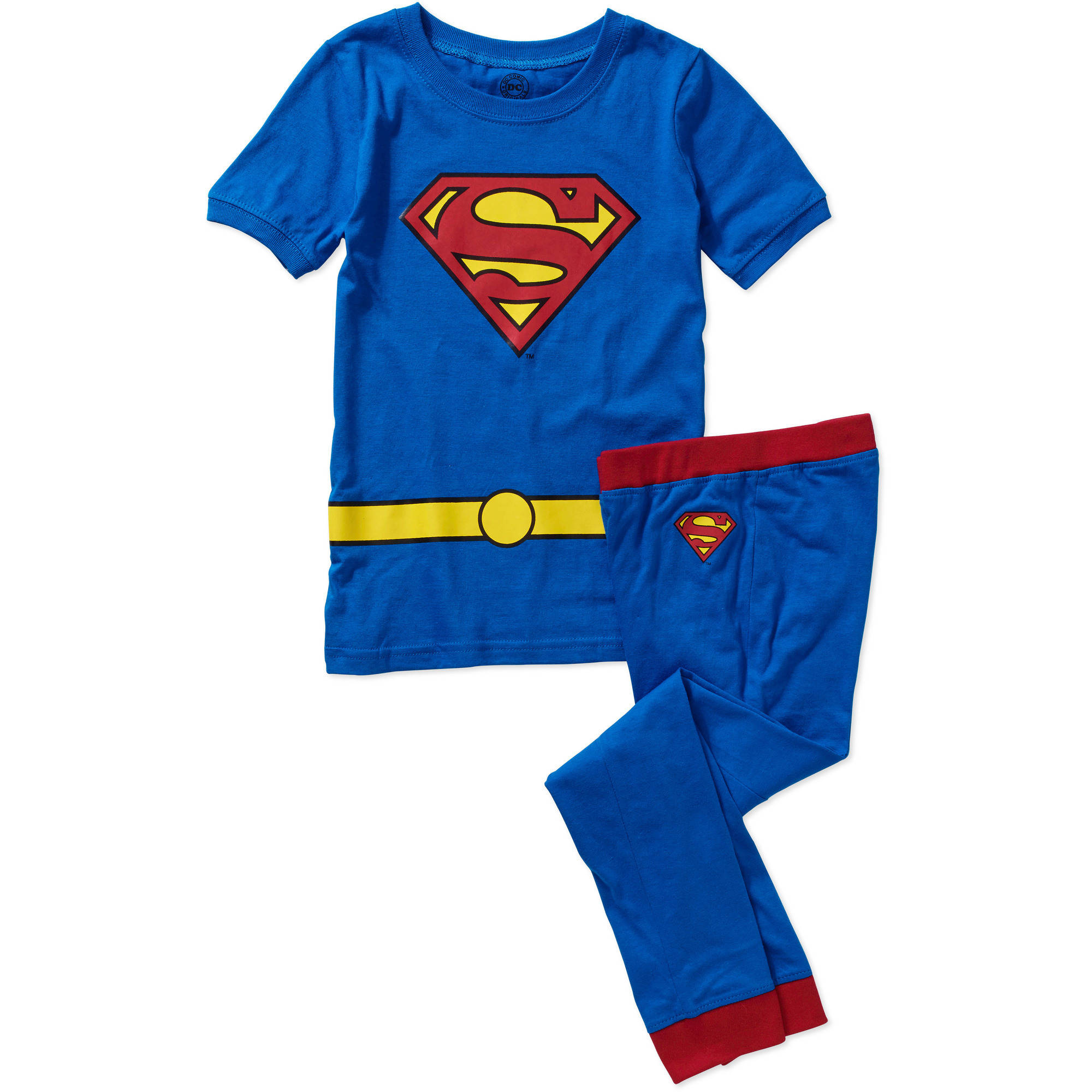 DC Comics Superman Tight Fit Costume Boys' Sleep Set
