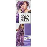 L'Oreal Paris Colorista Semi-Permanent Hair Color - Light Bleached Blondes, #Purple, 1 kit