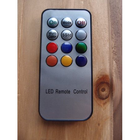 MoonBright Remote Control For 8LEDRMT-RGB 8 LED Paper Lantern Light by PaperLanternStore - Led Paper