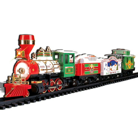 Christmas Tree Trains Sets (Musical Christmas Train 4-Car)