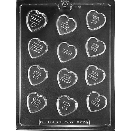 Valentines Day Conversation Heart Chocolate Mold Mould Soap Candy Party Favors m167](Valentines Party Ideas)