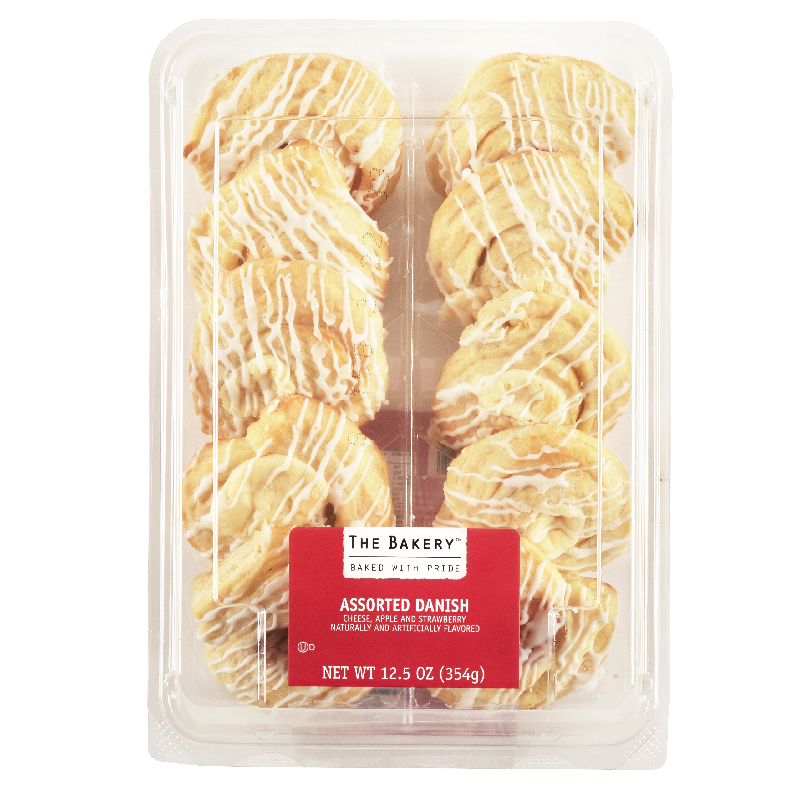 Freshness Guaranteed Assorted Danish, 12.5 oz, 10 Count