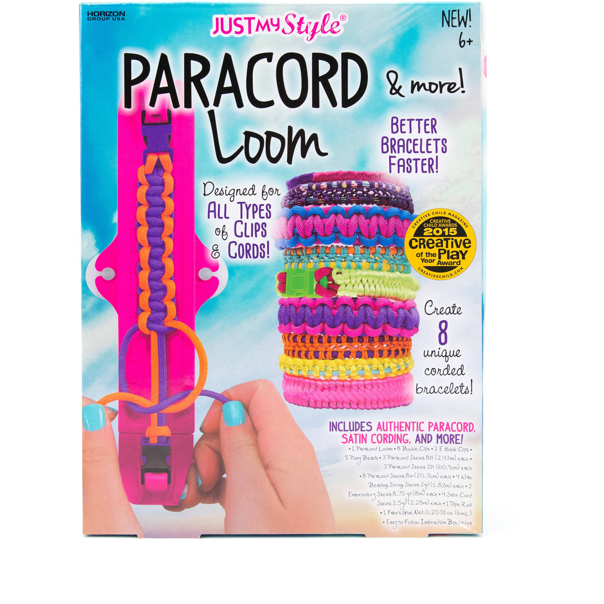 Just My Style Paracord Loom & More by Horizon Group USA