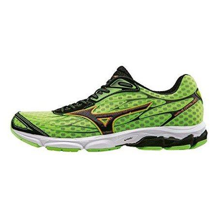 Mizuno Mens Wave Catalyst Running Shoes Green Clownfish Size 9