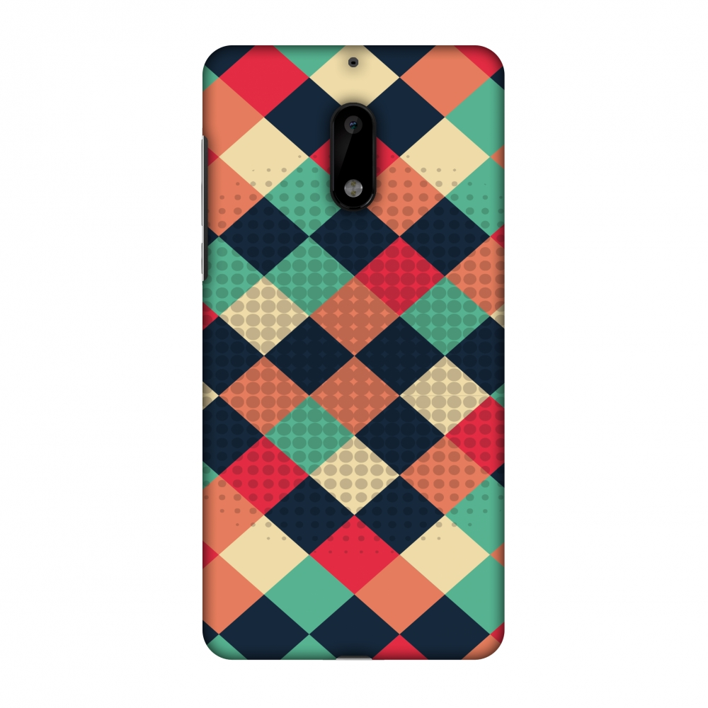 Nokia 6 Case, Premium Handcrafted Printed Designer Hard ShockProof Case Back Cover with Screen Cleaning Kit for Nokia 6 - Retro Much? 1