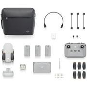 DJI Mini 2 Fly More Combo - Ultralight Foldable Drone, 3-Axis Gimbal with 4K Camera, 12MP Photos, 31 Min Flight Time