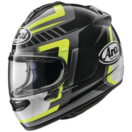 Arai DT-X Pace Yellow Helmet