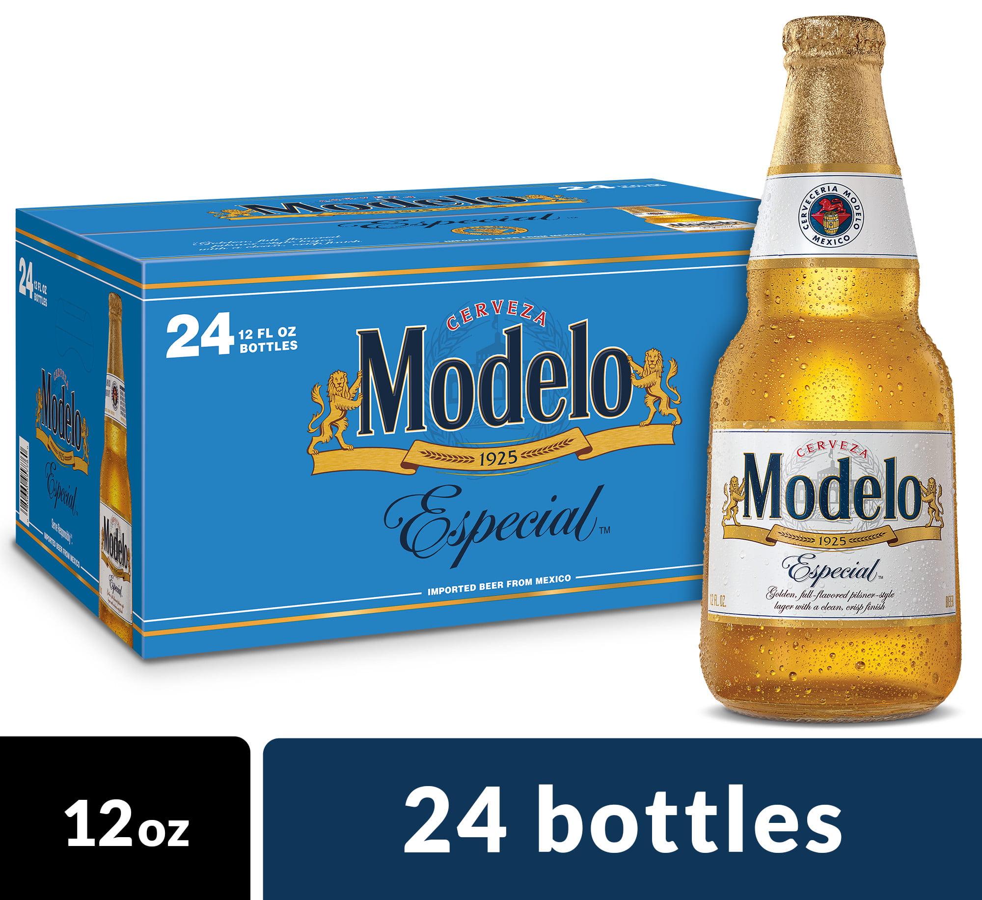 Modelo Especial Mexican Import Beer, 24 pk 12 fl oz Bottles
