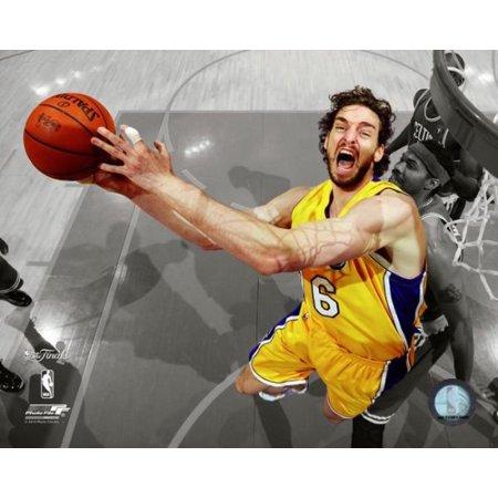 Pau Gasol Game Seven of the 2010 NBA Finals Spotlight (2010 Nba Finals Game 7 Box Score)