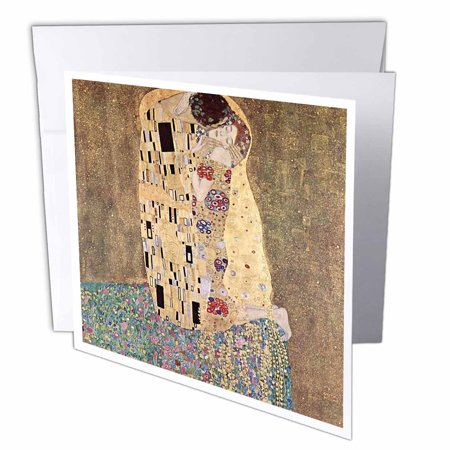 3drose famous klimt painting the kiss greeting cards 6 x 6 inches 3drose famous klimt painting the kiss greeting cards 6 x 6 inches set m4hsunfo