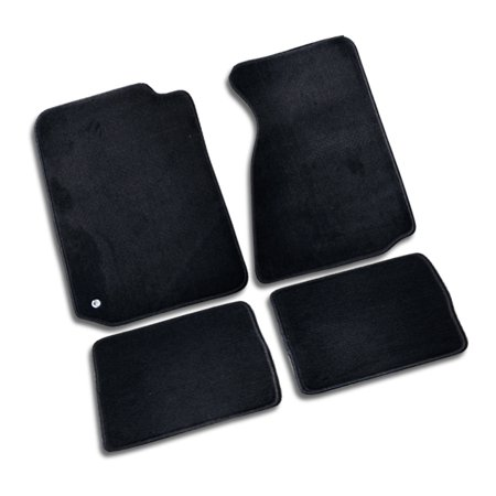 Spec-D Tuning For 1994-2004 Ford Mustang Floor Carpets Mats 4Pc Black Gt 1994 1995 1996 1997 1998 1999 2000 2001 2002 2003 (Gt 2000 4 Vs Gt 2000 5)