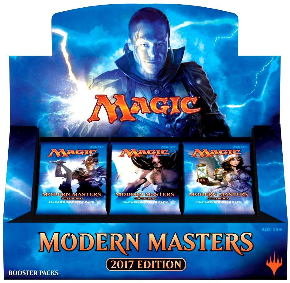 Magic The Gathering Modern Masters 2017 Booster Box by default