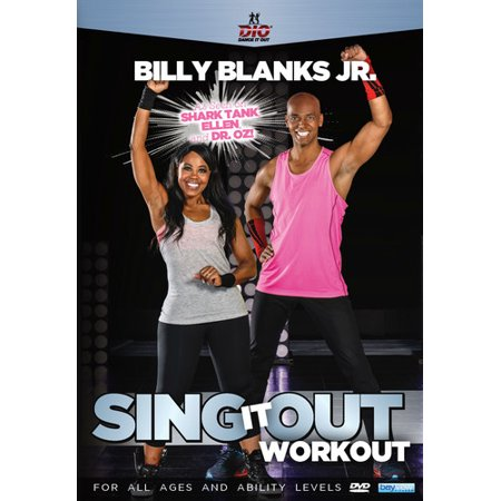 Billy Blanks Jr. Dance It Out: Sing It Out Workout (DVD)
