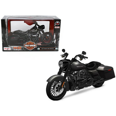 - 2017 Harley Davidson King Road Special Black Motorcycle Model 1/12 by Maisto