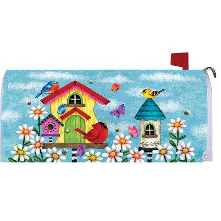 Custom Decor Mailbox Makeover Whimsy Birdhouse