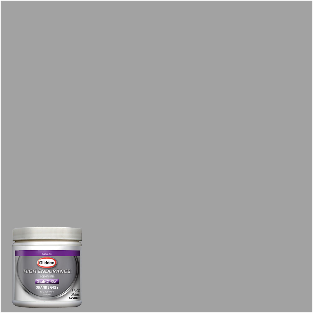 Glidden high endurance grab n go granite grey eggshell - How to get exterior paint out of clothes ...