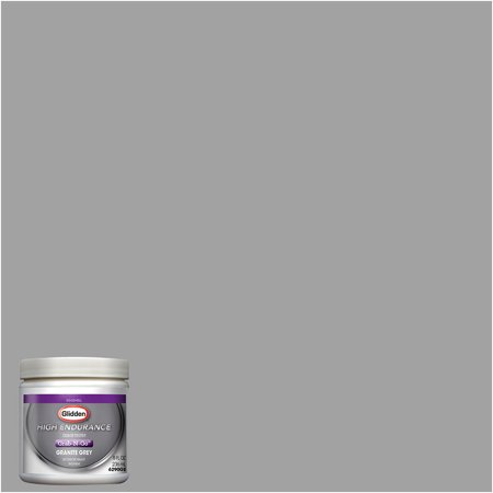 Glidden High Endurance Grab-N-Go Granite Grey Eggshell Interior Paint Tester 8oz
