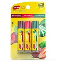 Carmex Daily Care Moisturizing Lip Balm, 3 ea