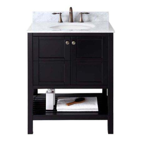 Virtu Es 30030 Wmro Gr Winterfell 30 Inch Single Bathroom Vanity Set