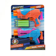 Adventure Force Duel Force Dart Blasters, Pack of 2