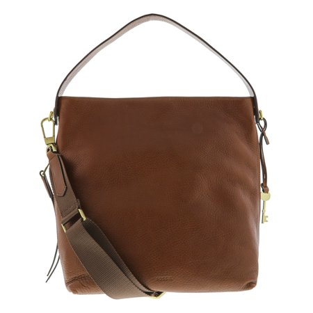- Fossil Maya Ladies Brown Leather Hobo Hanbag ZB6979