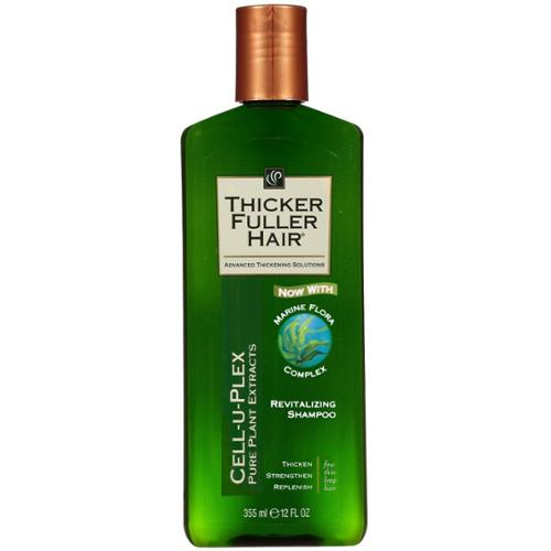 Thicker Fuller Hair Revitalizing Shampoo, 12 oz (Pack of 6)