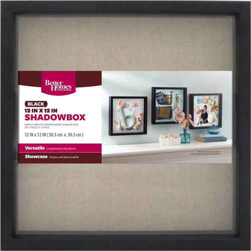 Better Homes and Gardens 12x12 Shadow Box