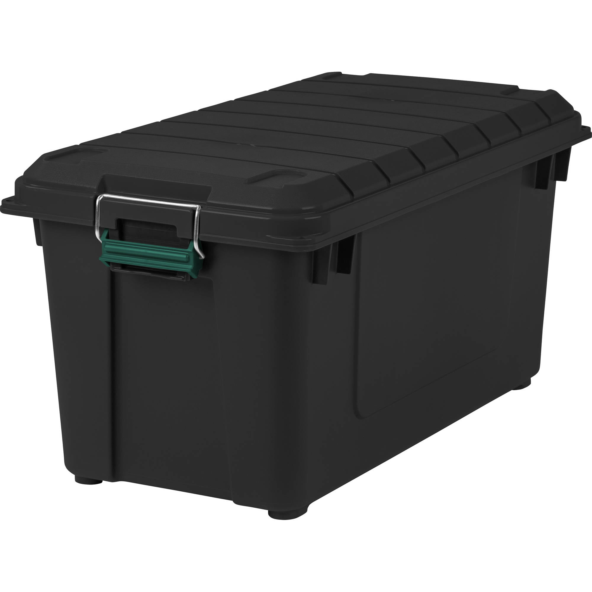 173 Qt. 43.25 Gal. Remington Store-It-All Tote with Handle, Black by IRIS USA, Inc.