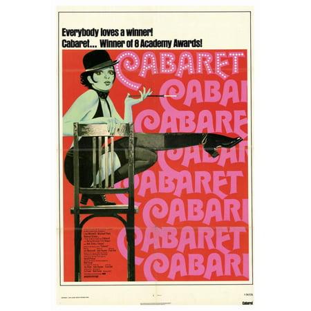 Cabaret  1972  27X40 Movie Poster