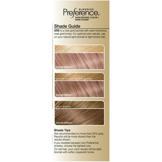 L'Oreal Paris Superior Preference Permanent Hair Color, 8RB