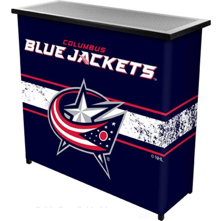 NHL Portable Bar with Carrying Case, Columbus Blue Jackets by